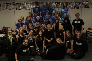 The Yearbok Class on Class Color Day