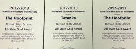 Yearbook named Best in Minnesota as BHS Publications sweep State awards